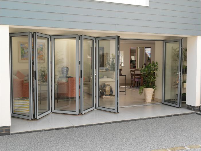 Smarts Visofold 1000 Aluminium Bi Fold Door London