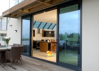 Visoglide sliding door